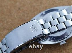 Vintage mens Bucherer automatic with bracelet all original excelent condition