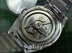 Vintage mens Citizen diver 62-6198 all original with bracelet missing bezel rare