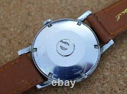 Vintage mens Election Supermatic all original Eta automatic all steel screw case