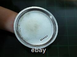 Vintage mens Unver Oversized 37 mm manual wind all original serviced rare