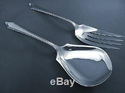 Virginia Carvel-towle All Sterling 2pc Salad Serving Set