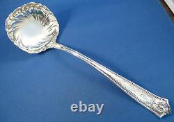 WINTHROP-TIFFANY ALL STERLING Large SOUP LADLE-MONO'C' 11 3/4