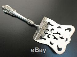 Wallace All Sterling Hooded GRANDE BAROQUE Asparagus Server